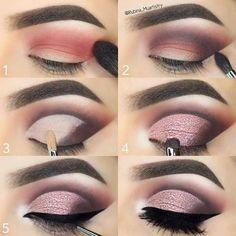Everytime you do eye make-up, make your eyes look brighter. Your eye make-up want t… Simple Eye Makeup, Eye Makeup Tips, Smokey Eye Makeup, Makeup Goals, Skin Makeup, Makeup Inspo, Makeup Inspiration, Makeup Hacks, Eye Makeup Tutorials
