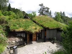 草屋根のコンサートホール