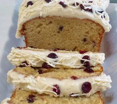 Starbuck's Cranberry Bliss Loaf