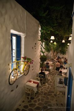 Nightlife Naxos Greece