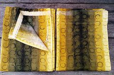 """#Retro fabric mid century vintage 1950/60s #mustard & olive #curtains 45""""w x 56""""d,  View more on the LINK: http://www.zeppy.io/product/gb/2/252135143451/"""