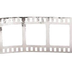 Silver Mini Film Roll Border