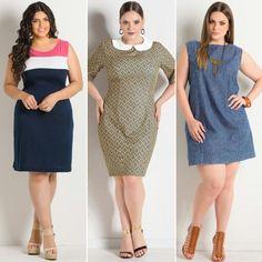 GG Premium: Vestido tubinho, ótima opção para compor looks elegantes e sofisticados!