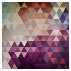 Trivector Giclee Canvas Print