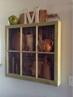 Home Frosting: Window Shadow Box