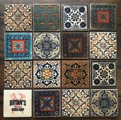 How To Make Classic Wood Tiles!!