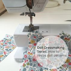How to resize doll patterns