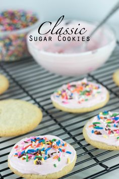 Classic Sugar Cookies via sweetasacookie.com | I'll never use another recipe again!