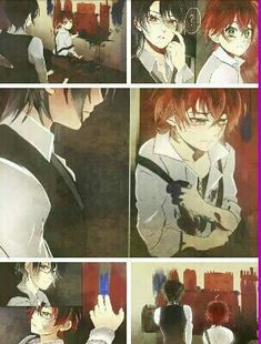 Read especial de imágenes from the story ♦~zodiaco diabolik lovers~♦ by (💚~Taetae ~💜) with reads. Manga Anime, Anime Art, Cute Anime Boy, Anime Guys, Diabolik Lovers Wallpaper, Reiji Sakamaki, Diabolik Lovers Ayato, Fanart, Anime Kawaii