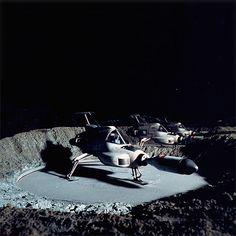 UFO. Moonbase interceptors at the ready. #UFO #GerryAnderson #Interceptors