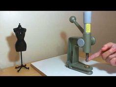 PAP - Como Forrar botões - D'Ana Crafts / Tecidos e Crafts - YouTube