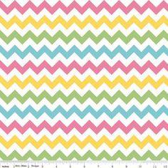 Small Chevron in Girl by Riley Blake Fabrics 1 by fancypantsfabric, $8.75