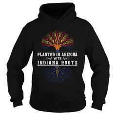 Awesome Tee 015-PLANTED IN ARIZONA WITH INDIANA ROOTS Shirts & Tees