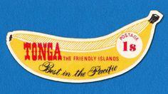 1969 self-adhesive Tonga Stamp