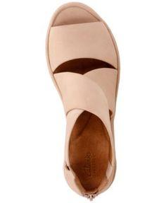 775f3cc43ea Clarks Women s Clarene Glamour Wedge Sandals Shoes - Sandals   Flip Flops -  Macy s