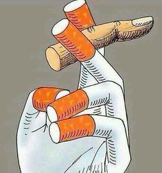 It's just a cigarette