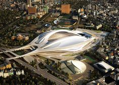 Zaha Hadid to design Japan National Stadium