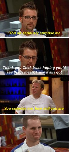 When a colleague asks for loads of extra shifts but always does their job half-assed. When a colleague asks for loads of extra shifts but always does their job half-assed. Gordon Ramsay Quotes, Gordon Ramsay Funny, Funny Relatable Memes, Funny Posts, 9gag Funny, Gordan Ramsey Meme, Gorden Ramsey, Twisted Humor, Funny Moments