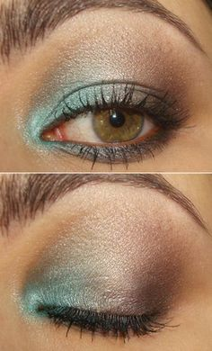 Glam Eye Makeup - I do Make Up in the Car