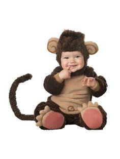 Infant Lil Monkey Costume