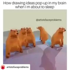 Animated Dancing Bears Will Have You Laughing All Day is part of Funny memes - Cheezburger com Crafted from the finest Internets Funny Video Memes, Stupid Funny Memes, Funny Relatable Memes, Funny Posts, Really Funny, Funny Cute, Artist Problems, Funny Clips, Funny Animals