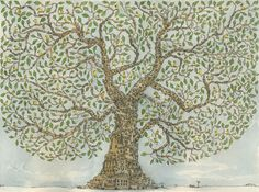 "A fantastic artwork called the ""HouseTree"""