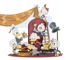 New Ducktales, Disney Ducktales, The Originals Show, Scrooge Mcduck, Duck Tales, Disney Shows, Owl House, Chalk Art, Manga Comics