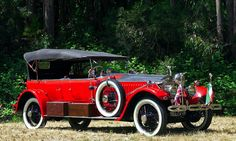 Maharajah's 1925 Rolls Royce with Barker Sport Touring body (used for tiger hunting)