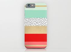 Jazz up your tech accessory game with this colorful phone case.