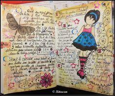 Les récréas de KitouZen: *** Cahier voyageur #4 ****