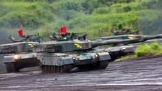 Type 90 - Japanese main battle tanks