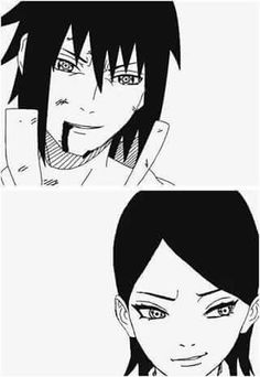 #Sasuke #Sarada ♡♡♡