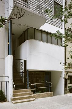 William Lescaze House, New York  by William Lescaze in 1934