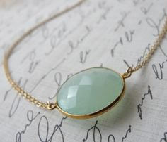 Peruvian Chalcedony Necklace.  I have this necklace.  It is fabulous!