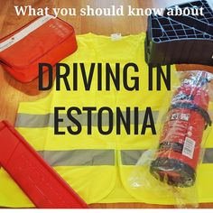 What you should know before planning a road trip in Estonia.