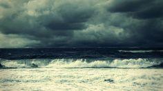 ocean storm themed wallpaper for desktops, 1920 x 1080 (1453 kB)