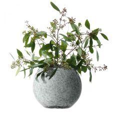 Tweed Vase rund 20 cm