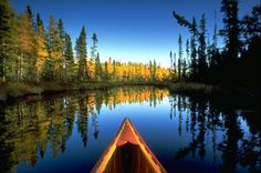 Just dream of this - it will be here sooner than we think. This is what MN is all about. Peace and serenity. Canoeing/kayaking on the lakes or backwaters of the Boundary Waters in Northern Minnesota. The Places Youll Go, Places To See, Beautiful World, Beautiful Places, Gorgeous Gorgeous, Simply Beautiful, Amazing Places, Trekking, Camping Sauvage