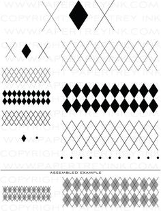 PapertreyInk - Little Argyle Set Scrapbook Supplies, Craft Supplies, Scrapbooking, Fun Crafts, Paper Crafts, Diamond Image, Ink Stamps, Stamp Collecting, Digital Stamps