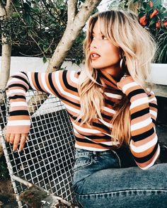 Fall vibes 💋🍂 - Hair - Beauty Tips and Tricks Mode Outfits, Fashion Outfits, Womens Fashion, Fashion Ideas, Look Fashion, Autumn Fashion, Fashion Black, Grunge Hair, Mode Inspiration