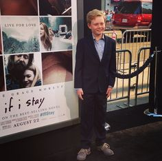 Teddy, a/k/a Jakob Davies and the best little brother we could ask for. | If I Stay Premiere
