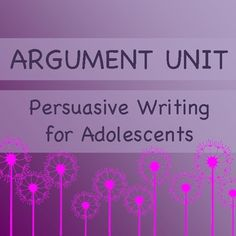 Argumentation Writing Unit: Common Core: Online Collaborative Discussion for Middle & High School $4.99