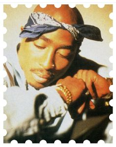 I have to see if there's a Tupac stamp.  If he's inducted into Hall of Fame maybe?