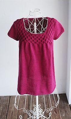 Shiori Tunic - free knitting pattern