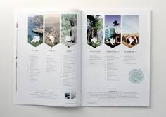 travel magazine layout - could be cool for the summer months and organizing the first couple of spreads.
