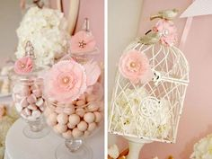 shabby chic baby shower theme ideas - Google Search