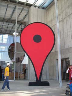 Google Map Pin marks the entry by RobiNZ, via Flickr