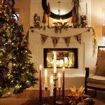 Noel Christmas Fireplaces Decoration Ideas