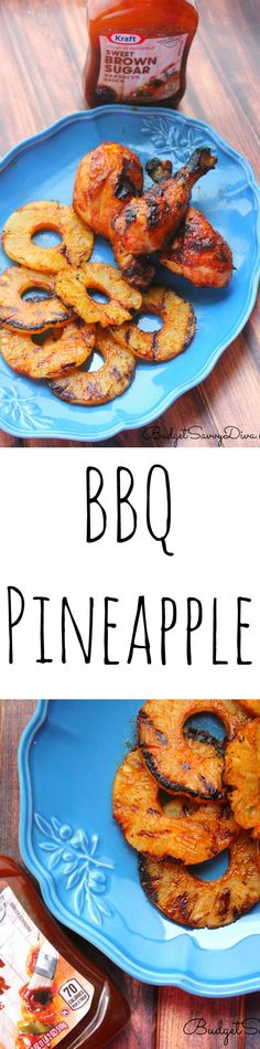 It is summer time! It is the perfect time to BBQ ! BBQ Pineapple is on trend for this summer! BBQ Pineapple Recipe #FireUpTheGrill