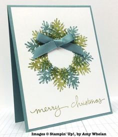 Ornamental Pine, Endless Wishes, Stampin' Up!, by Amy Whelan